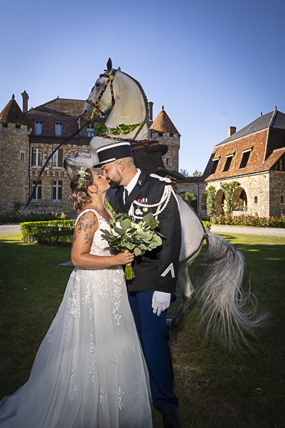 Mariage château de la Trye